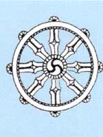 Свастика на символах тибетского буддизма