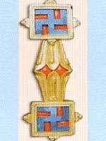 Свастика на символе религии Бон – Юнгдрунге