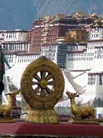Коловрат у Дворца Далай ламы в Потале