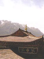 Свастика, монастырь в Лангмуси