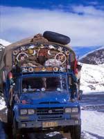 Свастика на грузовике