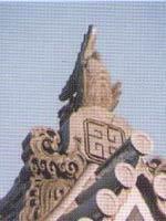 Свастика. Деталь синтоистского храма