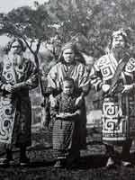 Айны – белое население Японии (1900 год)