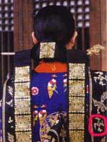 Свастика в Корее. Церемониальный наряд королевы