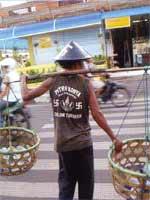 Свастика во Вьетнаме. Свастика на футболке