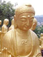 Свастика на Тайване. 10 000 статуй Будды