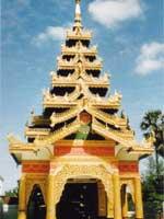 Свастика в Бирме. Пагода