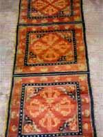 Свастика на молельном буддийском ковре. Монголия