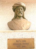 Памятник Хану Батыю в городе Сёгют, Турция