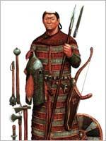 Вооружение армии Чингисхана. Воин