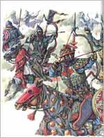 Вооружение армии Чингисхана. Лучники