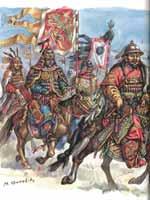 Вооружение армии Чингисхана. Выступление в поход