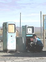 Современная Монголия. Типичная заправка