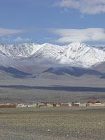 Современная Монголия. Деревня