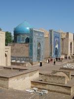 Узбекистан. Самарканд. Комплекс усыпальниц Шахи-Зинда
