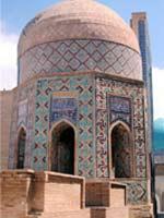 Узбекистан. Самарканд. Свастика на мавзолее Ширин-Бика-Ака