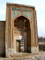 Узбекистан. Вакбент. Мавзолей