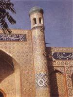 Узбекистан. Коканд. Свастика на дворце Худояр-хана