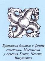 Свастика из могильника у с. Кенхи, Ингушетия
