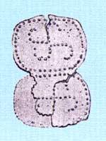 Свастика из Нестеровского могильника, Ингушетия