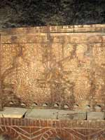 Солярные символы на резных деревянных изделиях, Грузия