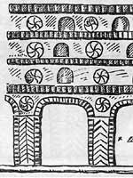 Солярные символы в архитектуре, Грузия