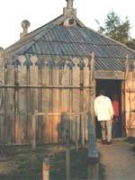 Славянское поселение в Гросс-Раден. Храм