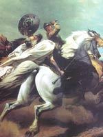 Картина Теодора Шлёпке «Смерть Никлота»