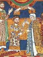 Генрих Лев венчается с дочерью английского короля Генриха II