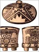 Керамика майя, ранее VII в.