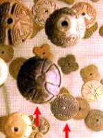 Старинная керамика индейцев Комичигон, Археологический музей в Сантьяго дель Эстеро, Аргентина
