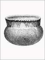 Свастика на керамике из Пекан Пойнт