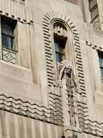 Свастика на здании Пенобскот в Канаде