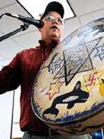 Современный индейский сказитель Тим Тингл