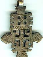 Индейское украшение с крестом