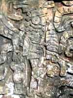 Белые боги американских индейцев. Стелла из Чичен-Итцы, Мексика