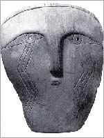 Антропоморфная маска из индейского кургана