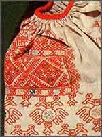 Женский свадебный наряд конец 19-начало 20 в. Вятская губ., Малмыжский уезд