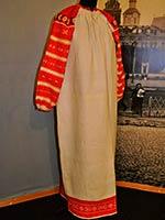 Праздничная женская рубаха. Д. Кукуй Сапожковского р-на Рязанской губ. 1916 г.