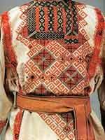 Мужская праздничная рубаха старообрядцев. Семипалатинская губ. 19 в.