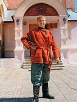 Свадебный наряд начало XX в. Курская губерния, Суджанский уезд