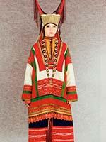 Женский свадебный костюм Пензенской губ. 1920-е г.