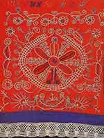 Календарь на каргопольском полотенце