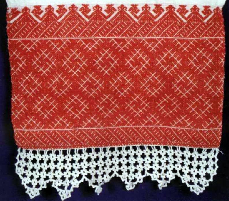 Полотенце, конец XIX века.
