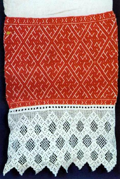 подзоров (полоса ткани с