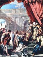 Себастиано Риччи «Эсфирь перед Артаксерксом», 1734
