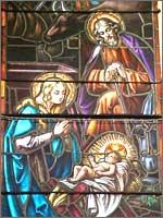 Ведунья Мария и Волхв Иоанн в ожидании Белого Волхва при рождении Радомира. Иллюстрация из книги Светланы Левашовой «Откровение»