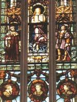 Мария Магдалина изображена в виде Учителя, стоящего над королями, аристократами, философами и учёными. Иллюстрация из книги Светланы Левашовой «Откровение»