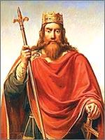 Один из последних Меравинглей, Чилдерик Второй (Childeric II). Иллюстрация из книги Светланы Левашовой «Откровение»