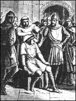 Постриг последнего из Меровинглей. Иллюстрация из книги Светланы Левашовой «Откровение»